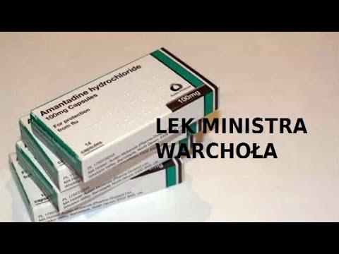 Lek na Covid-19 ministra Warchoła