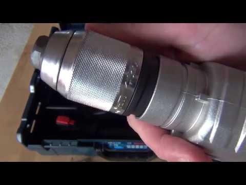 Ударная дрель BOSCH GSB 21-2 RE L-BOXX. Быстрозажимной патрон ROHM