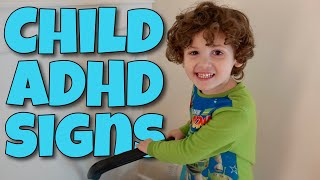 Early Adhd Signs In 4 Year Old
