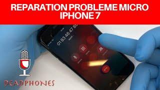 🇫🇷réparation : Réparer problème micro iphone 7 / iphone 7 plus tuto apple micro soudure
