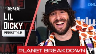 FUNNIEST FREESTYLE EVER | LIL DICKY FREESTYLE ON SWAY IN THE MORNING | REACTION | PLANET BREAKDOWN