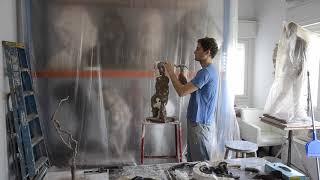 Waste Mold Sculpture #1404 | Avner Levinson