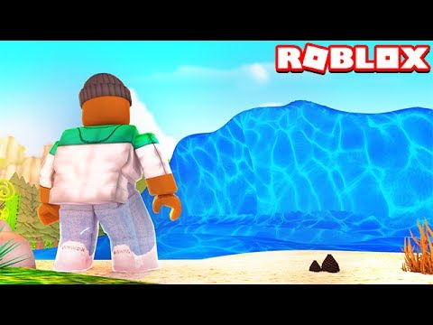 Survive The Mega Wave In Roblox Youtube