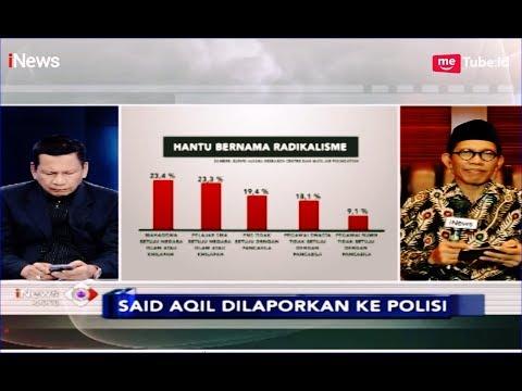 Tanggapi Pelaporan Said Aqil, PBNU Beberkan Survei Radikalisme di Indonesia - iNews Sore 20/03