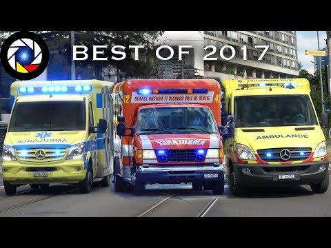 Ambulances responding ⎜BEST OF 2017⎜