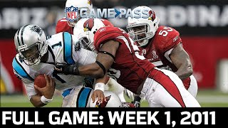 A Prelude to a Future NFC Championship: Panthers vs. Cardinals Week 1, 2011 Full Game