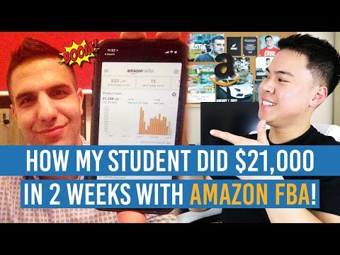 How My STUDENT DID $21,000 in 2 WEEKS with Amazon FBA!! MIND BLOWN!!