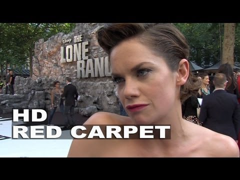 "The Lone Ranger: Ruth Wilson ""Rebecca Reid"" UK Premiere Interview"