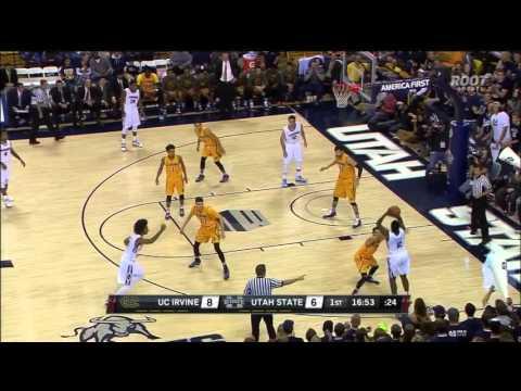 """Darius Perkins - 6'2"""" PG Utah State University"""