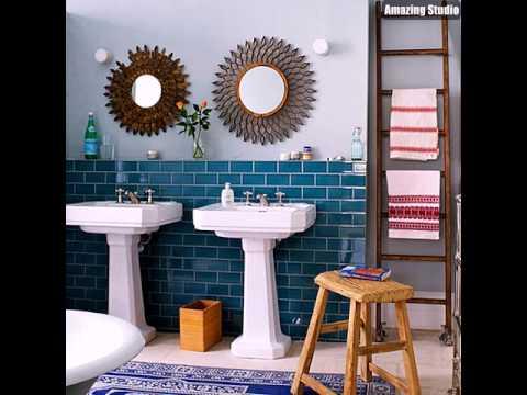 Teal Blue Bathroom Tile