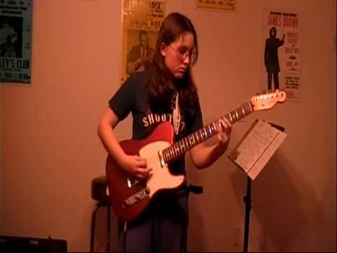 Killing Floor by 15 year old Alicia Marie on Guitar/Vocals