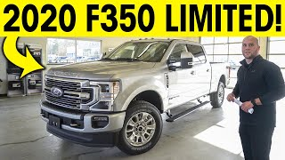 2020 Ford F350 - Limited, Diesel, FX4 Super Duty!