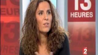 Racha Arodaky sur France 2