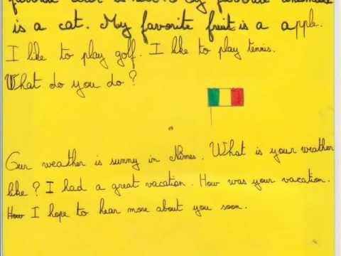 French penfriend letters youtube french penfriend letters thecheapjerseys Gallery