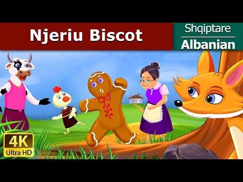 Njeriu Biscot  - Fëmijët Tregime - Perralla per femije shqip - 4K UHD - Albanian Fairy Tales