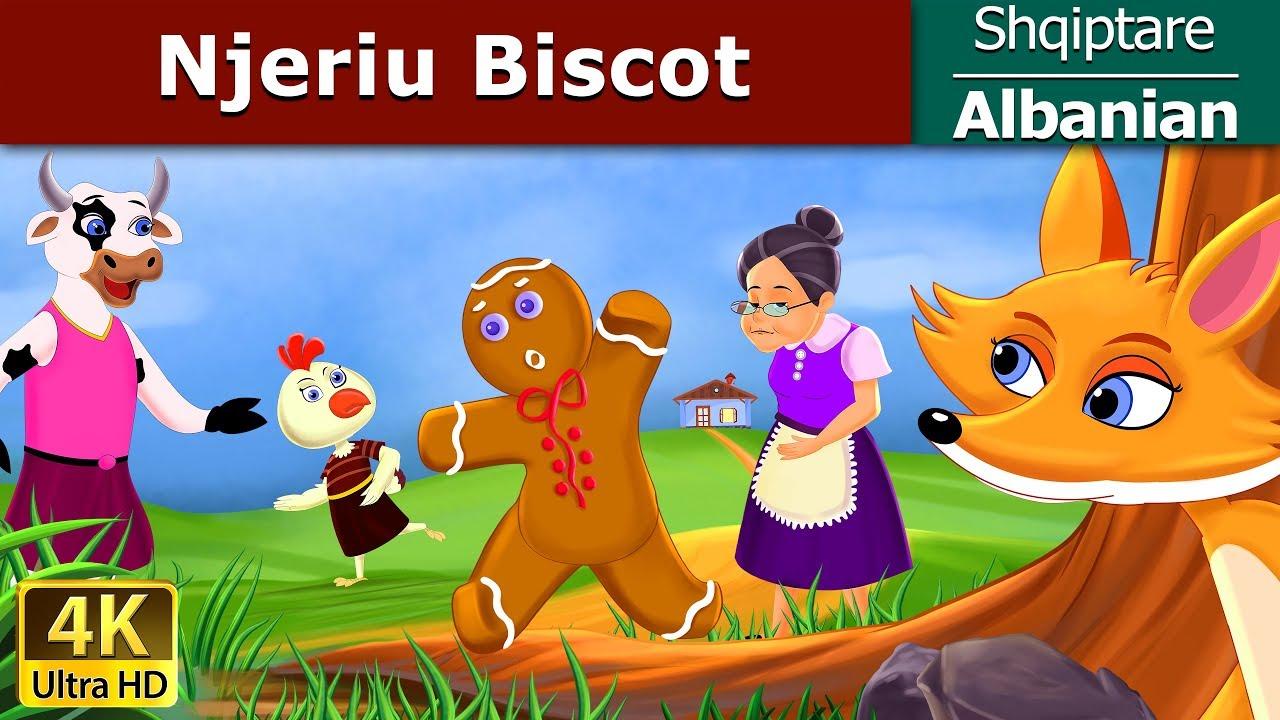 Njeriu Biscot Perralla Per Femije Kukulla Per Femije Shqip