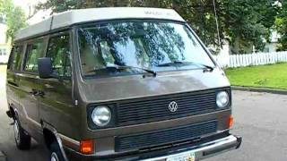 1985 Volkswagen Vanagon Westfalia Wolfsburg Edition Weekender for sale SOLD