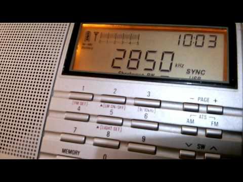 Pyongyang BS (Pyongyang, North Korea) - 2850 kHz