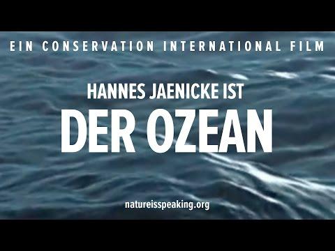 Nature Is Speaking: Hannes Jaenicke ist Der Ozean