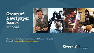 Group of Newspapers Issues: Tutorial (2018) thumbnail