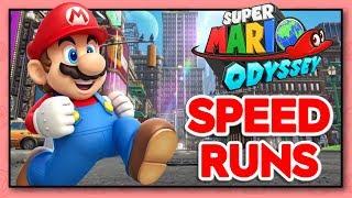 NEW PB OF 1:22:49!!! Super Mario Odyssey ANY% Speedruns