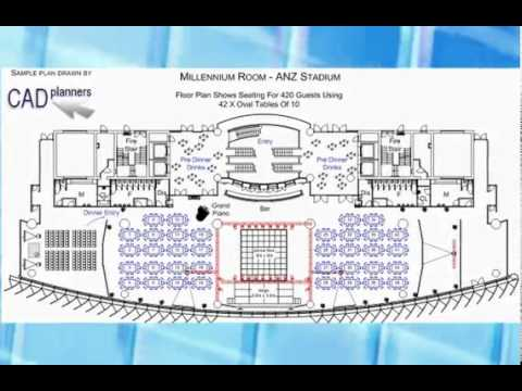 CAD Planners Event Layout Software - YouTube