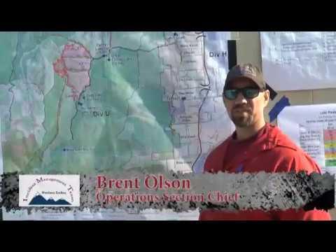 Lolo Peak Fire Video Update For July 30 Youtube