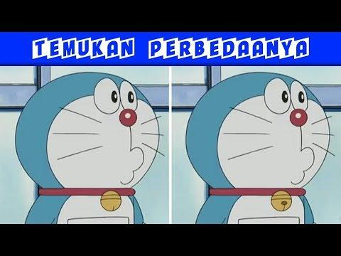 Tes Kejelian Mata !!! Temukan Perbedaan Perbedaan Gambar Berikut - Edisi Doraemon