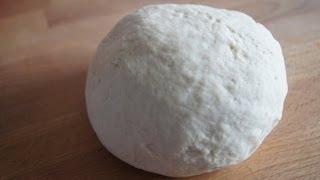 Teig ohne Ei für Wareniki, Pelmeni / тесто без яиц для вареников, пельменей / dough (russian food)