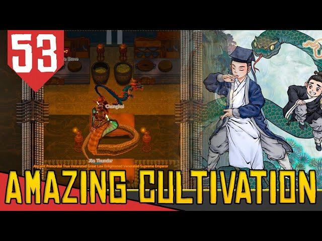 PET DRAGÃO e TRIBULAÇÃO DE 100 MILHOES - Amazing Cultivation Simulator Immortal #53 [Gameplay PT-BR]