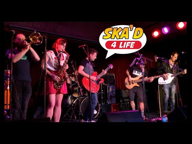 Ska'd 4 Life supporting King Tide at the Baroque Room