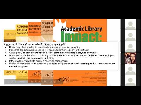 ACRL ISMLC: Critical Assessment Practices: A Discussion on When and How to Use Student Learning Data