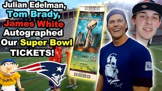 SML PLAYS FOOTBALL WITH TOM BRADY!! (IN BOSTON)