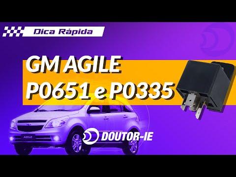 Chevrolet Agile gerando falhas P0651 e P0335 | Doutor-IE