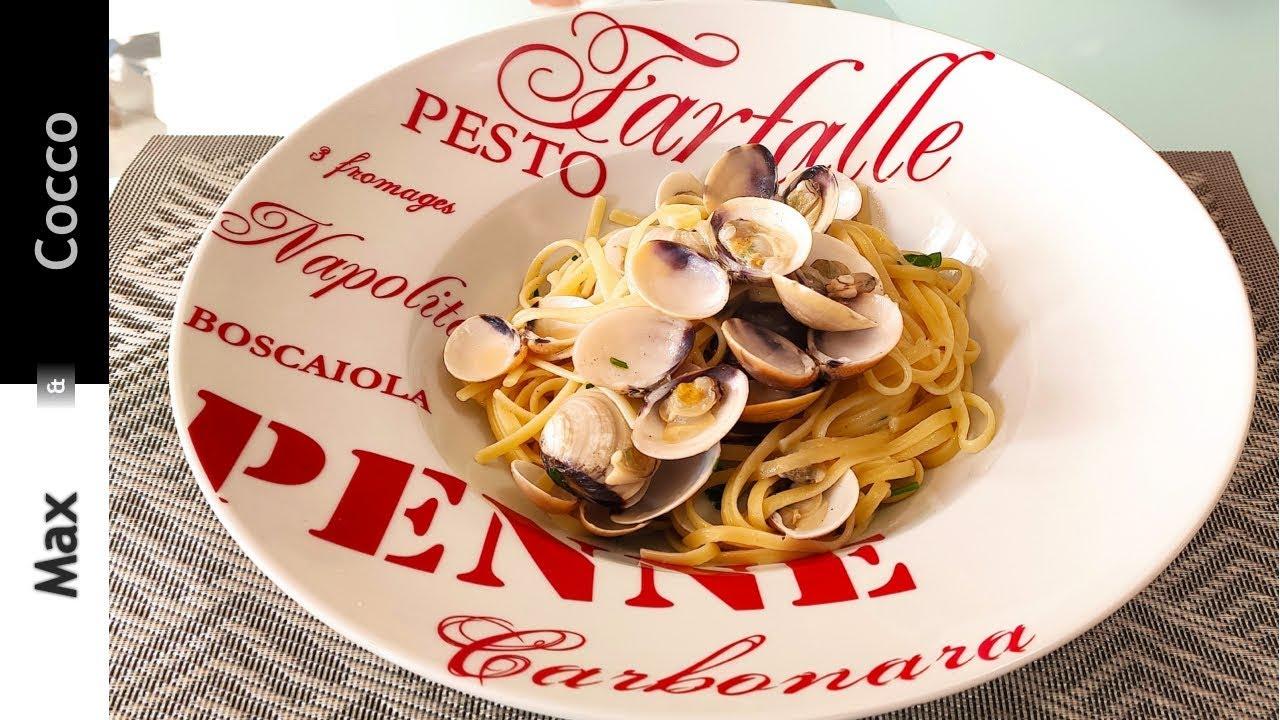 Spaghetti Alle Vongole Surgelate Pronte In 20 Minuti Youtube