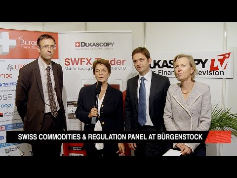 Swiss Commodities & Regulation Panel at Bürgenstock