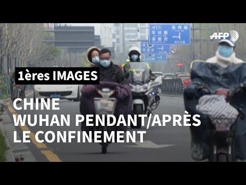 Coronavirus: la ville de Wuhan pendant et après le confinement | AFP