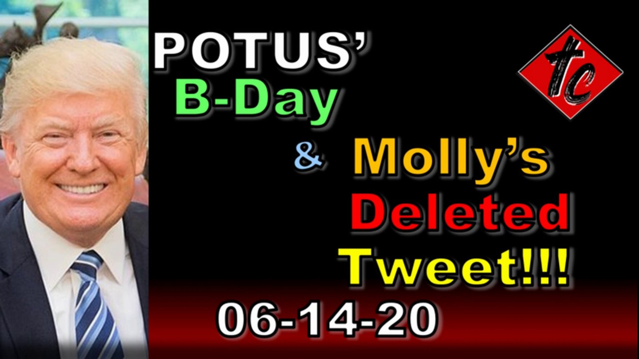 POTUS' B-Day & Molly's Deleted Tweet!!!