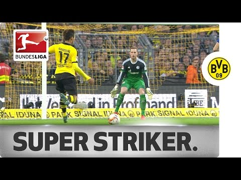 Superhero Striker - All of Aubameyang's Bundesliga Goals...So Far!