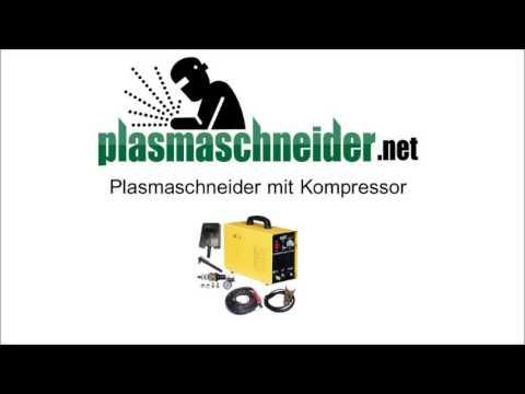 plasmaschneider mit kompressor youtube