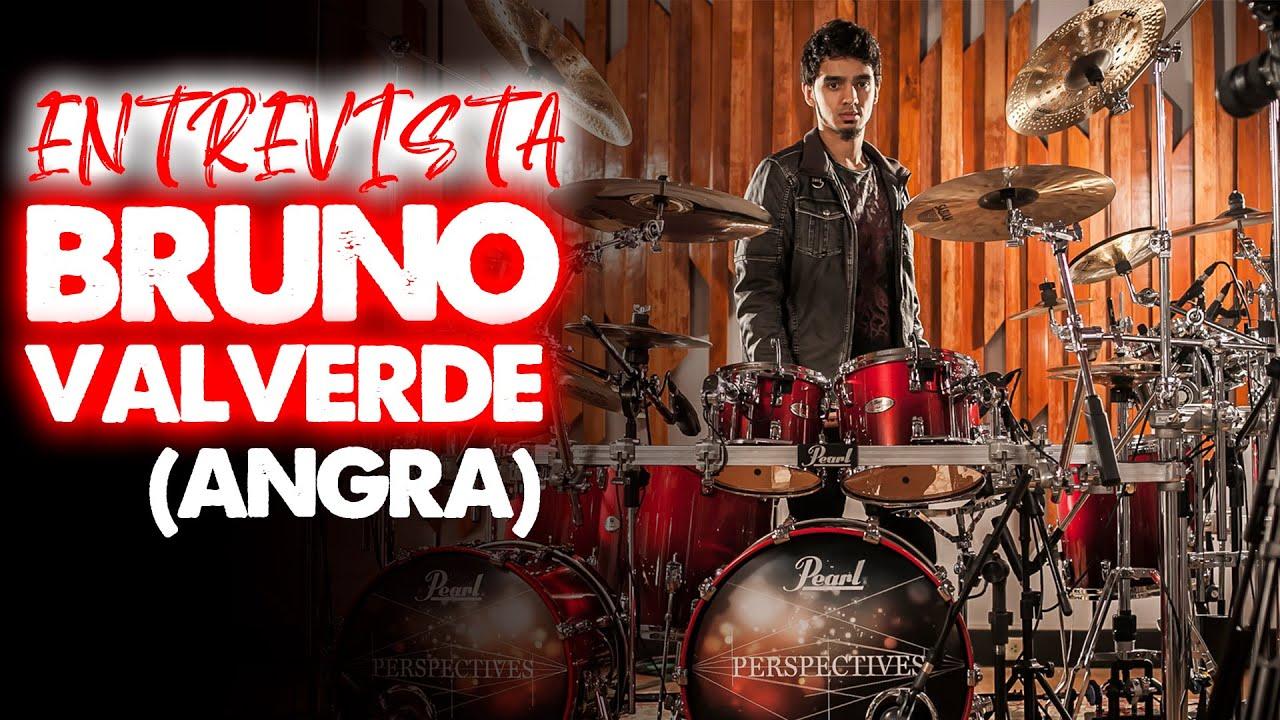 Entrevista Bruno Valverde (Baterista Angra) - Veja Por Outro Ângulo