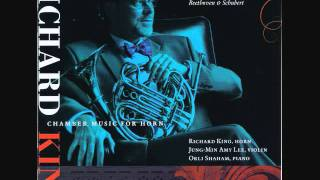 "FRANZ SCHUBERT: ""Auf dem Strom,"" Op. post. 119 (D943) - RICHARD KING, horn"