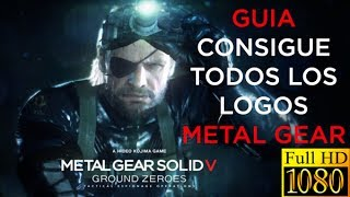 Metal Gear Solid V: Ground Zeroes | Consigue todos los logos Metal Gear en Déjà-Vu y Jamais Vu