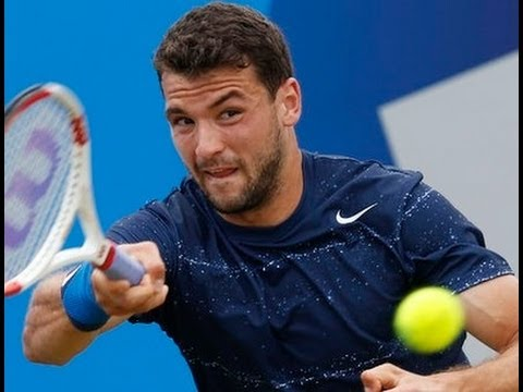 Grigor Dimitrov vs James Ward Queens Atp World Tour 2014 part2