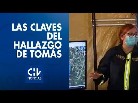 Las claves que llevaron al hallazgo de Tomás Bravo: Imágenes aéreas y térmicas ayudaron
