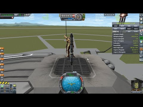 TVG Space Agency KSP E01 - The First Flight (That is Groot!)