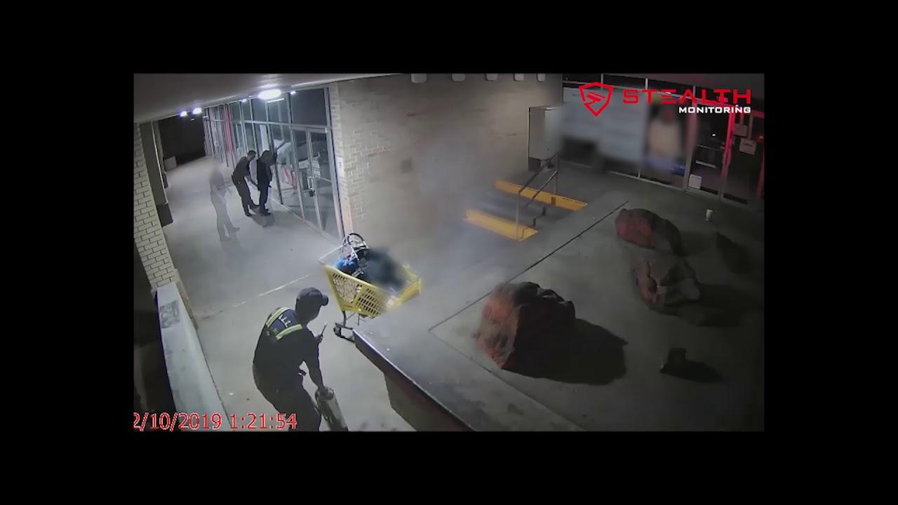 Man Starts Fire at Shopping Center