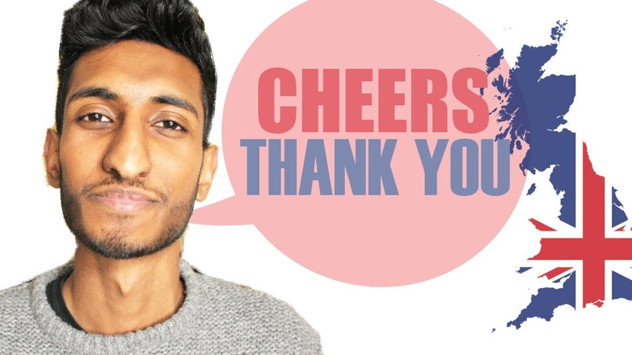 Different ways to say THANK YOU in English | British Accent