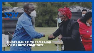 Gospel Singer Bahati announces he will campaign for Dp Ruto come 2022