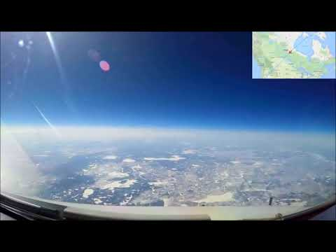 Must See FULL Cockpit Timelapse Proves Flat Earth